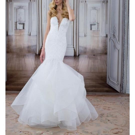 pnina tornai off white 2017 love collection style 14482 feminine wedding dress size 4 s 54 off retail Panina Wedding Dress
