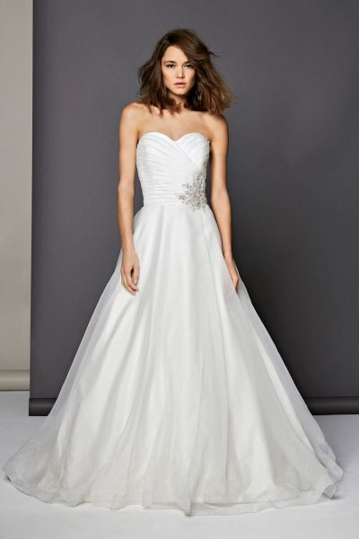 romantic ball gown dress Michelle Roth Wedding Dresses