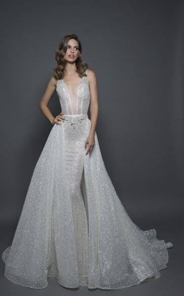 sexy sheath wedding dress Panina Wedding Dress