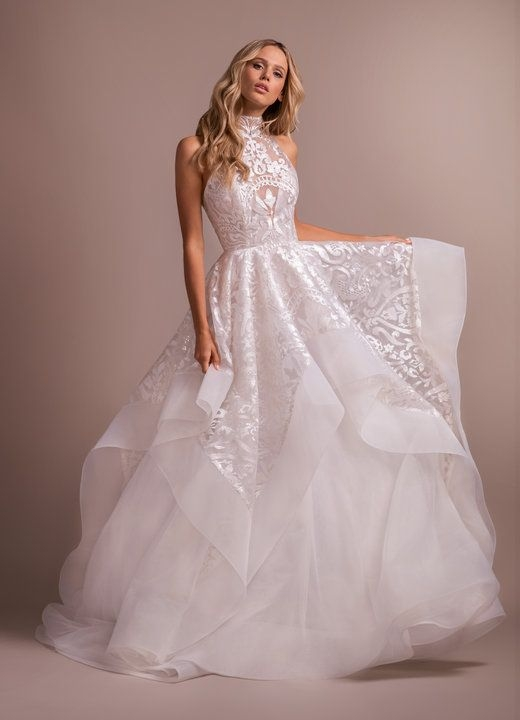 style 6912 kylo hayley paige bridal gown ivory luxembourg Haley Paige Wedding Dress
