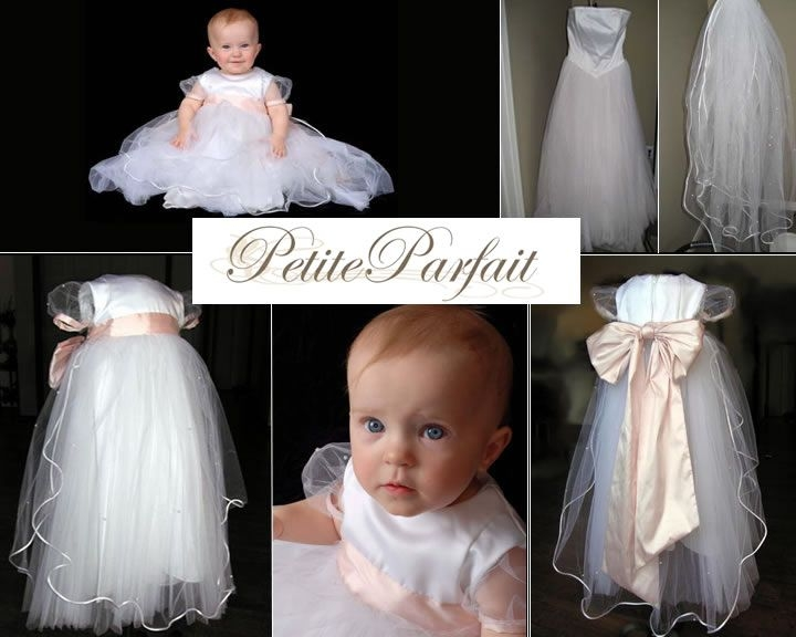 turn your wedding dress into a christening gown upcycling Christening Gown From Wedding Dress