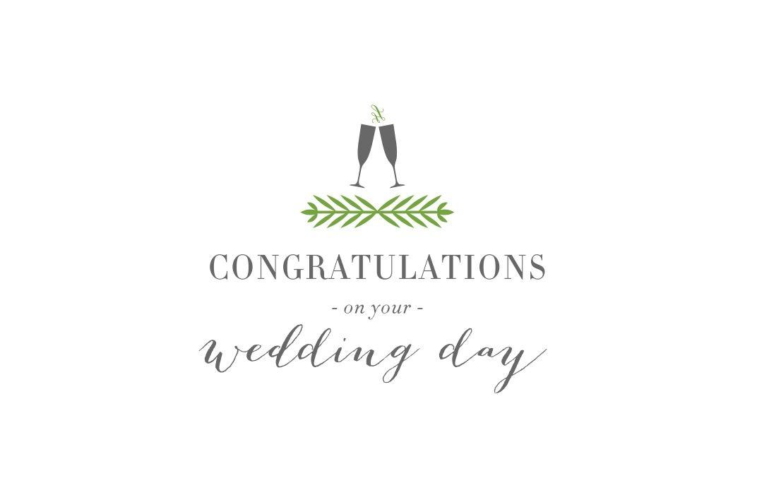 10 free printable wedding cards that say congrats Printable Wedding Invite