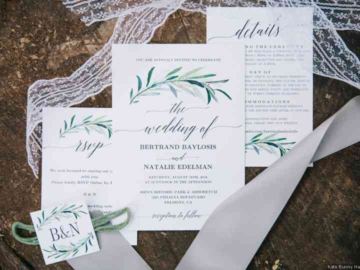 10 popular types of wedding invitation paper and printing Wedding Invite Print