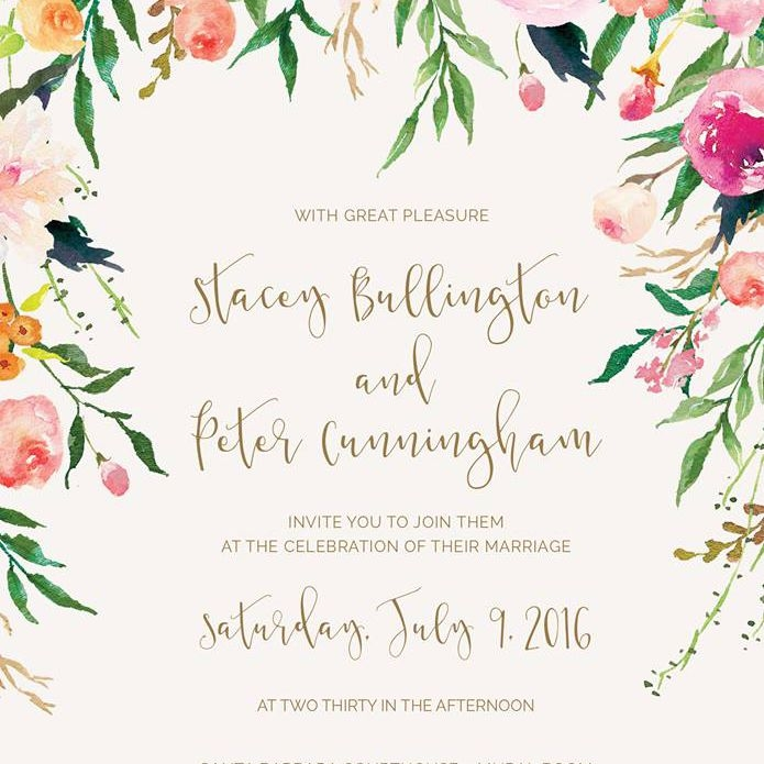 21 wedding invitation wording examples to make your own Typical Wedding Invitation