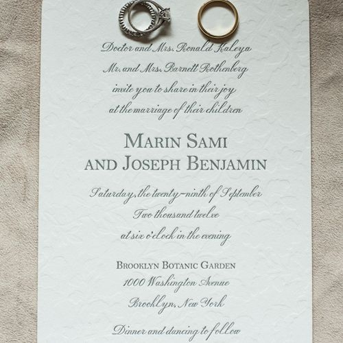 21 wedding invitation wording examples to make your own What Goes Inside A Wedding Invitation