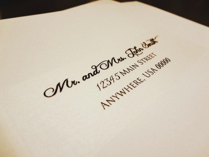 32 best picture of wedding invitation labels addressing Printing Labels For Wedding Invitations
