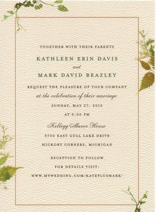 35 creative image of what to say on a wedding invitation What Should Be On A Wedding Invitation