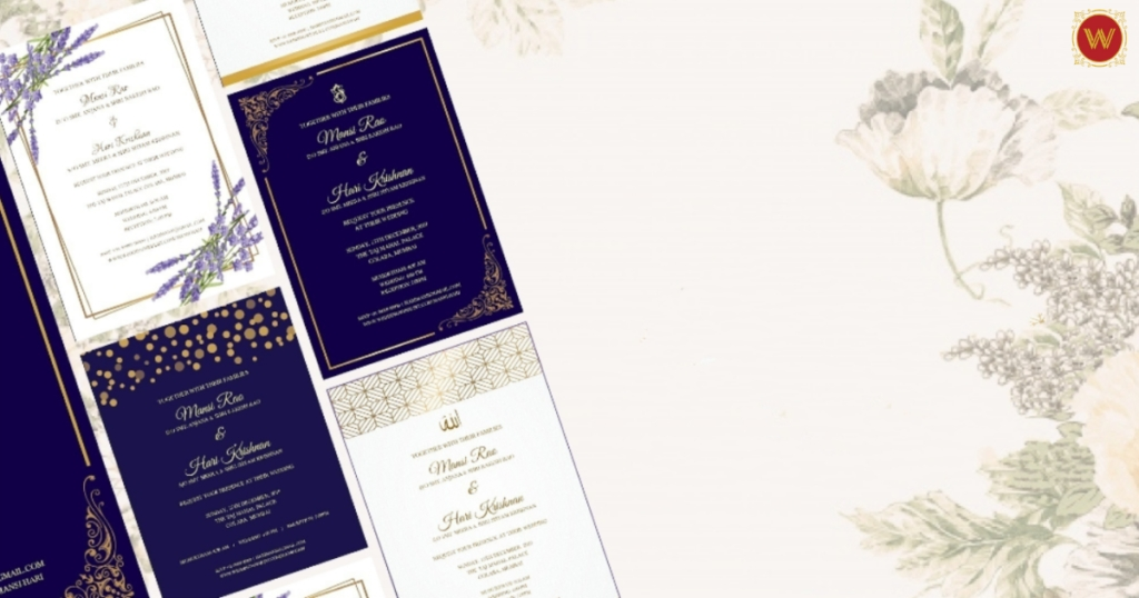 6 best companies for wedding cards in bangalore 2019 Wedding Invitations Bangalore
