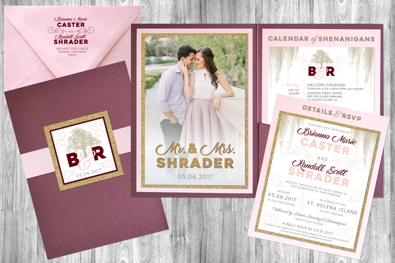 6 of the trendiest wedding invitation designs to choose from Wedding Invitation Designer