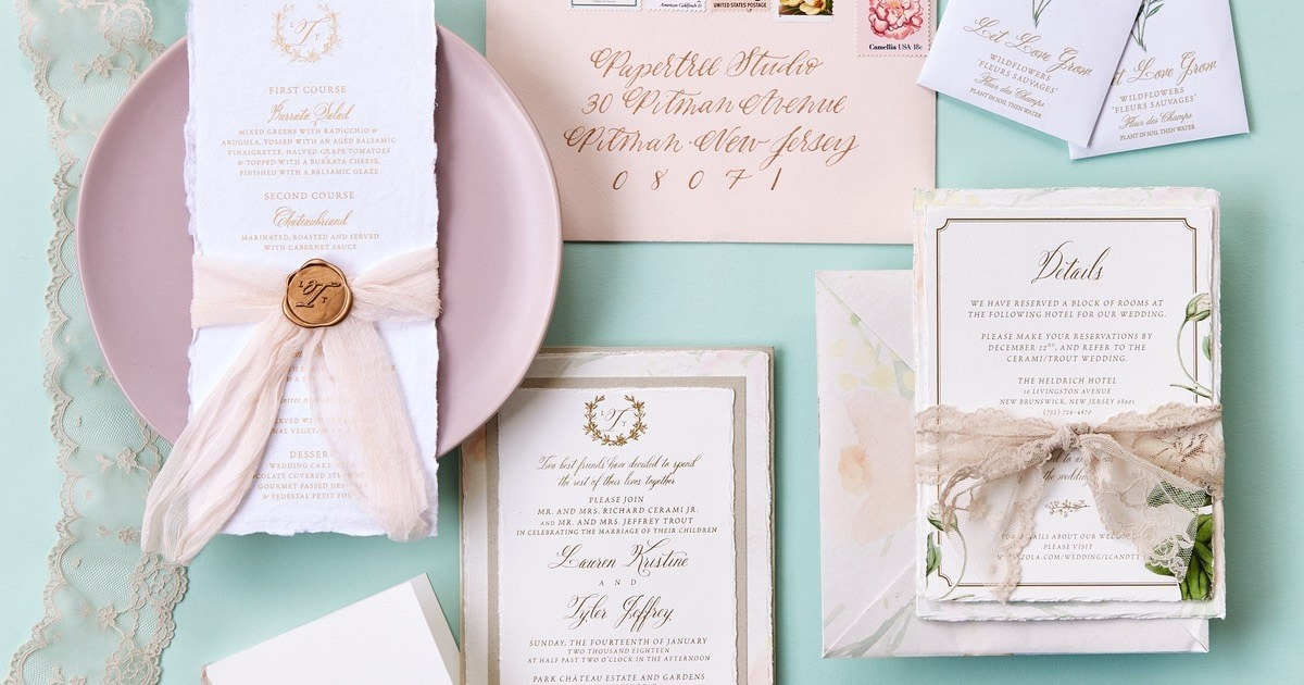 best philly wedding invitation designers and calligraphers Wedding Invitation Designer