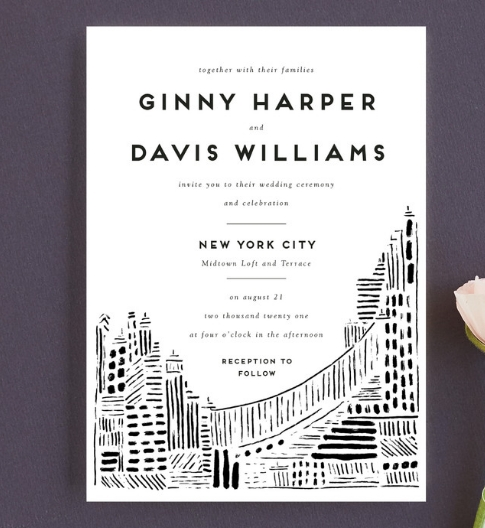 choose minted for creative wedding invitations style island Creative Wedding Invites