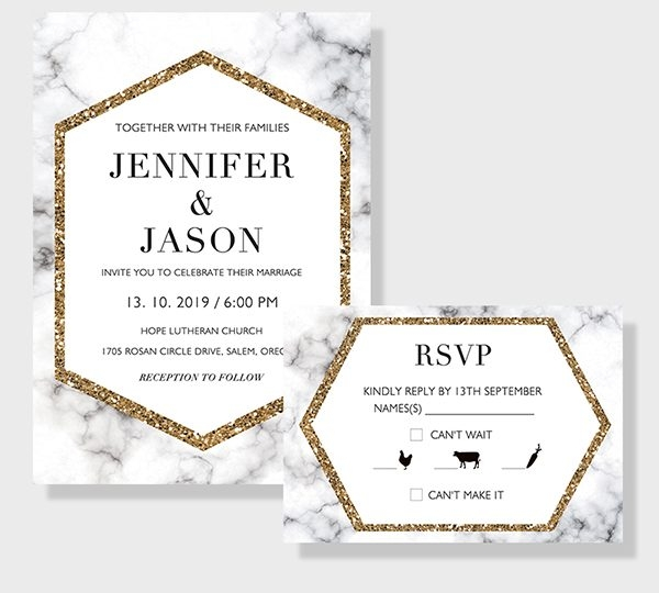 considerable response cards along with the wedding invitations Wedding Invitation Response Cards