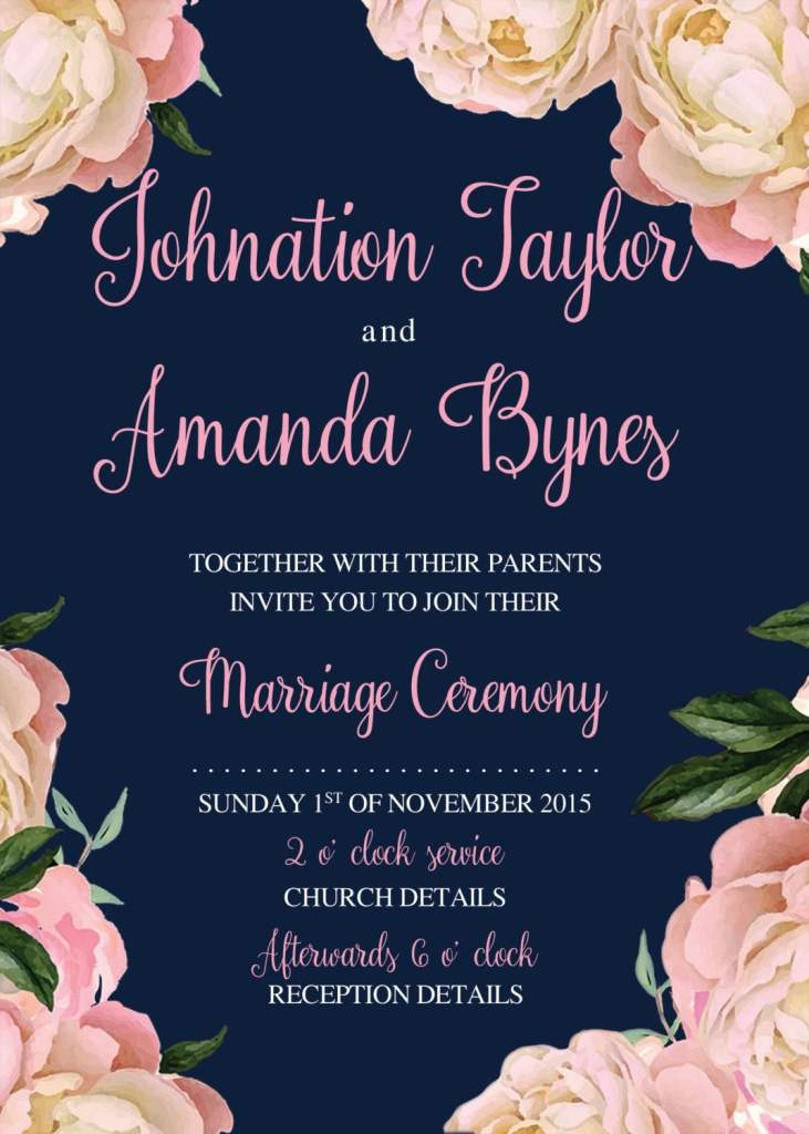 design your own wedding invitations free wedding Create Online Wedding Invitations