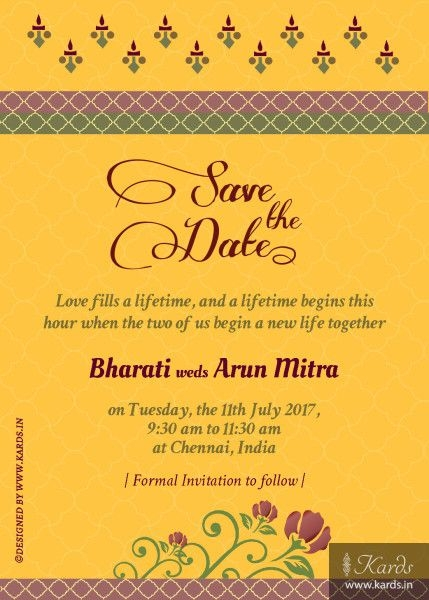 digital wedding invitation card indian in 2020 wedding E Invitation For Wedding