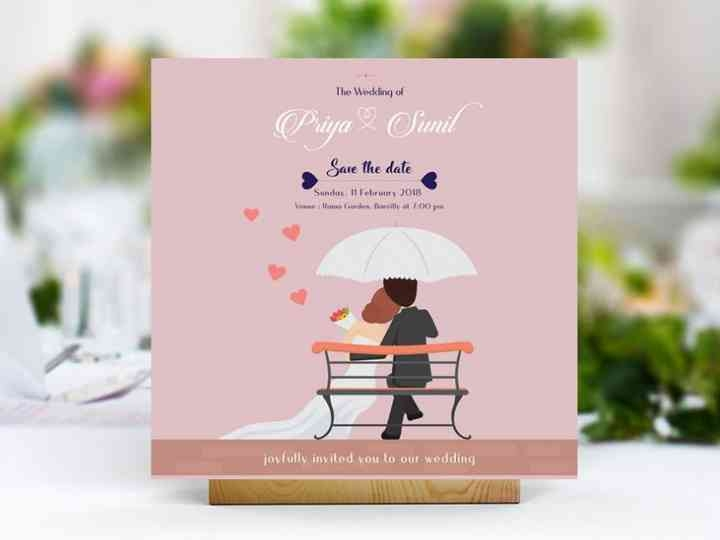 ditch paper and go green with online wedding invitation card Online Wedding Invitation Design