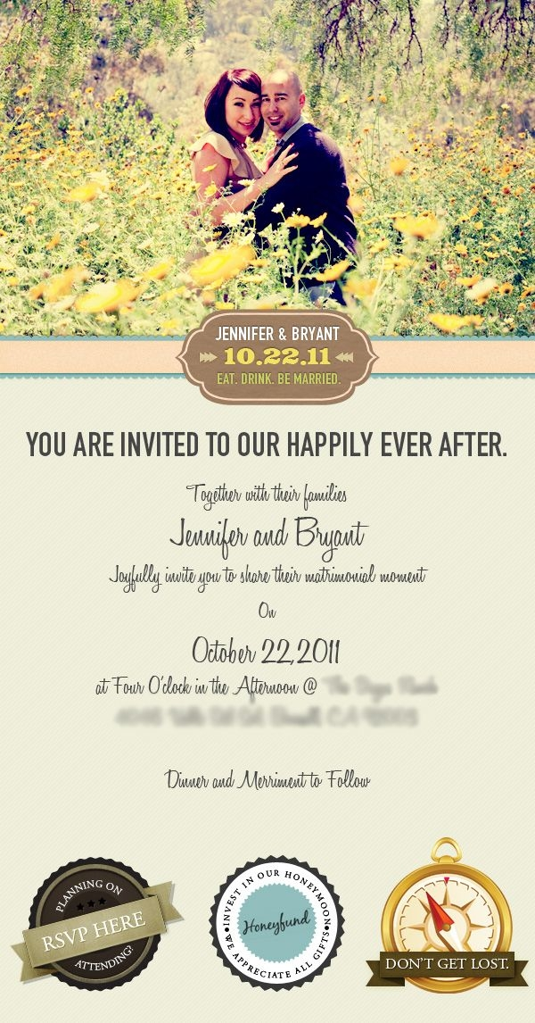 email wedding invitation vincent valentino via behance E Invitation For Wedding