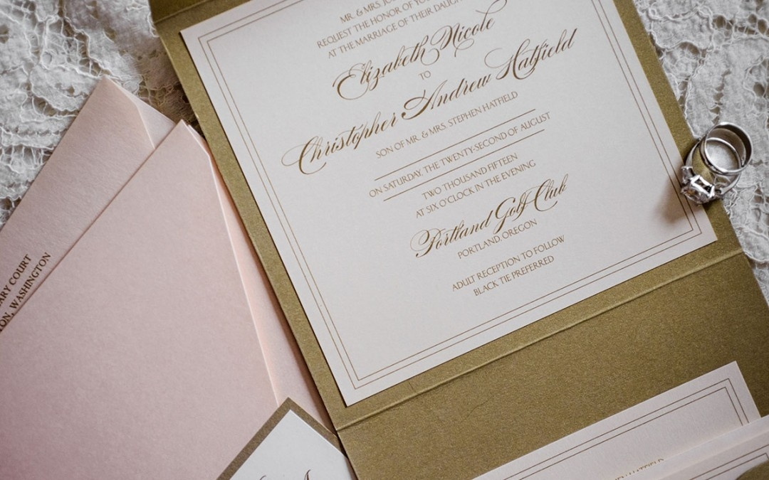 five tips for staying within your wedding invitation budget Posh Wedding Invitations