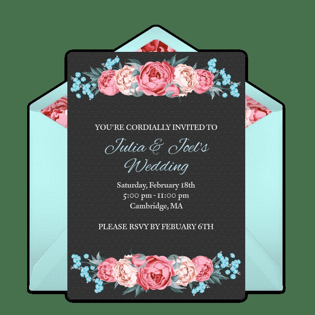 free online wedding invitations E Invitation For Wedding