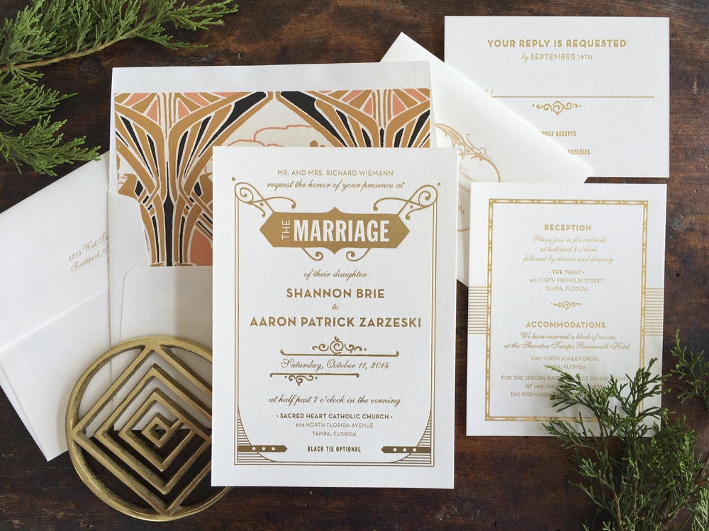 full collection hello tenfold wedding invitations Wedding Invitation Collections