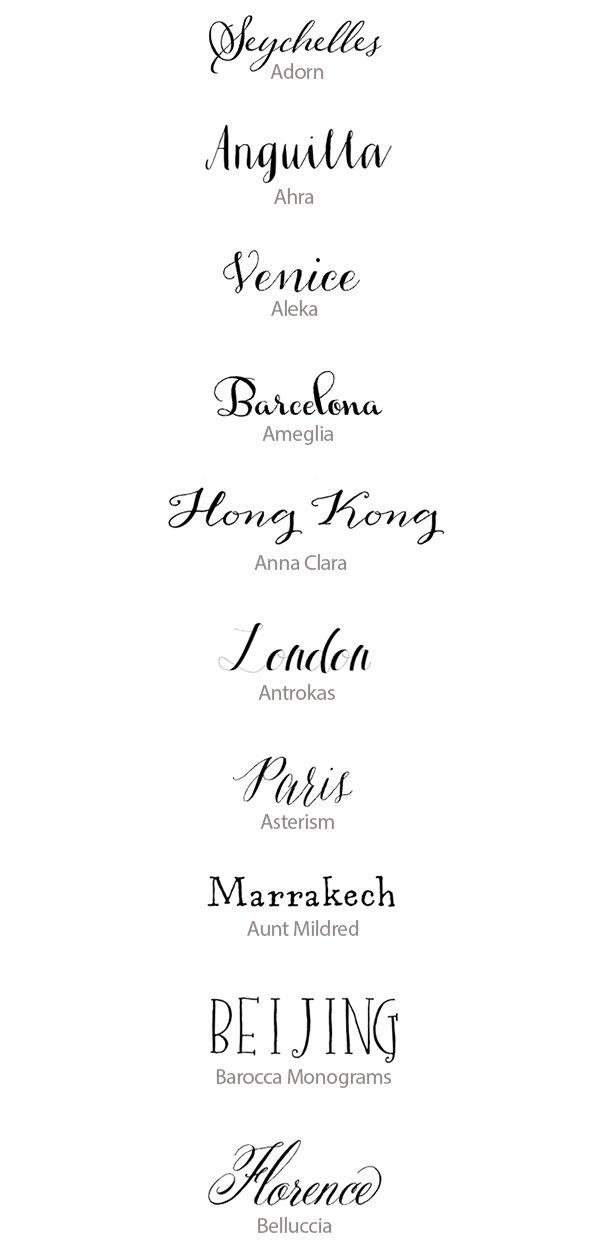 hand lettered calligraphy fonts best handwritten fonts for Best Calligraphy Fonts For Wedding Invitations
