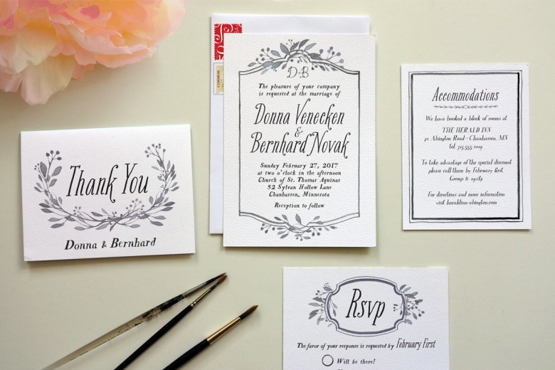 how to diy wedding invitations Design My Own Wedding Invitations Online