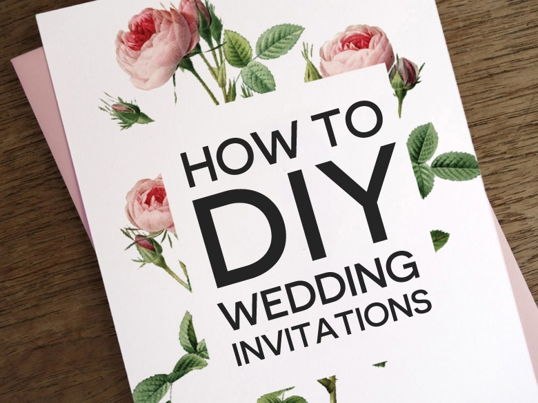 how to diy wedding invitations Design Your Own Wedding Invitations