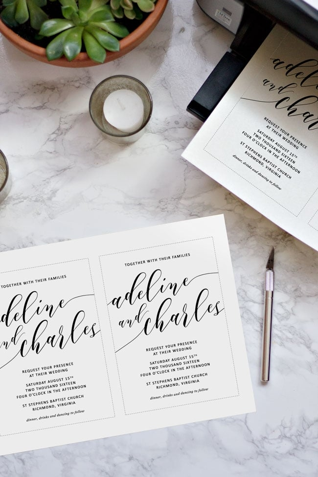 how to make your own wedding invitations pipkin paper company Design Your Own Wedding Invitations