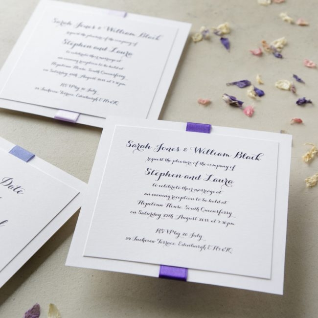 how to make your own wedding invitations wedding ideas mag Make It Yourself Wedding Invitations