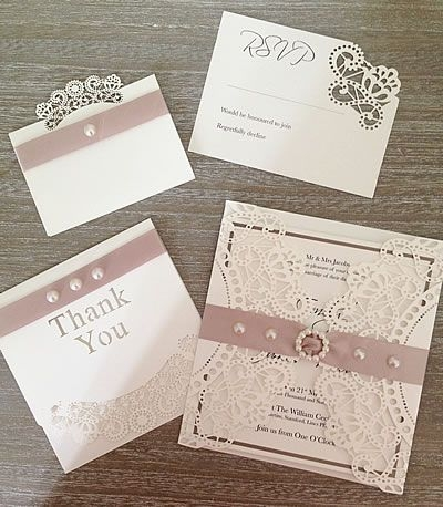 ideas to make your own wedding stationery and invitations Make It Yourself Wedding Invitations