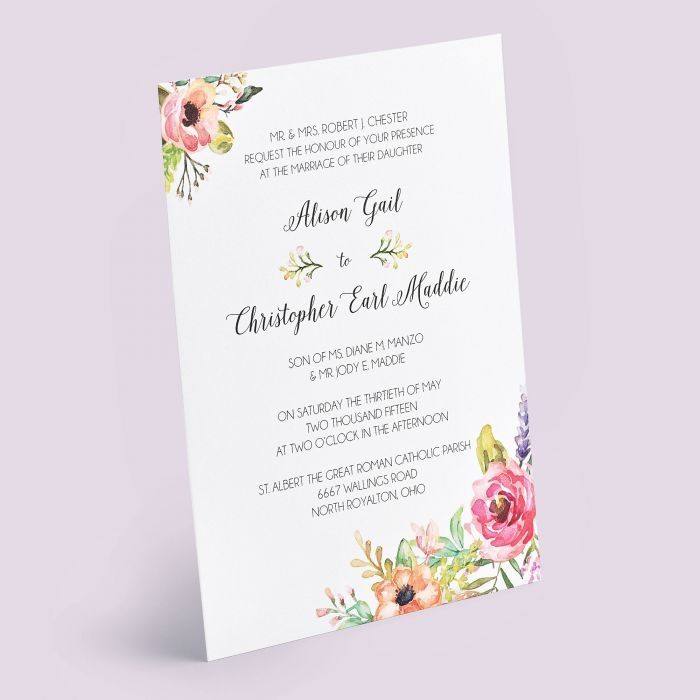invitations Custom Printing Wedding Invitations
