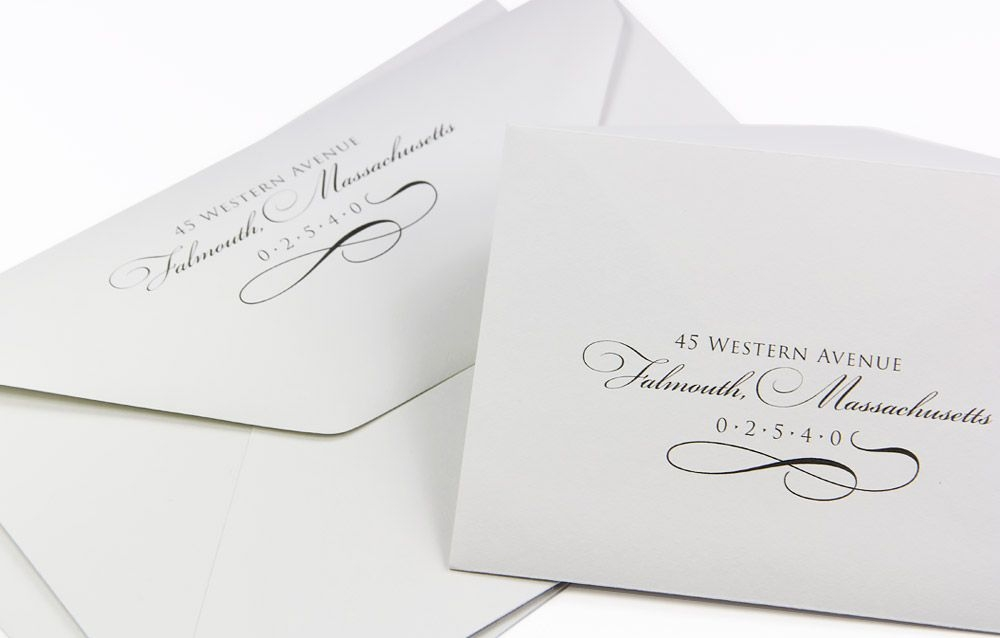 invite inspiration elegant custom printed cotton envelopes Printing Wedding Invitation Envelopes
