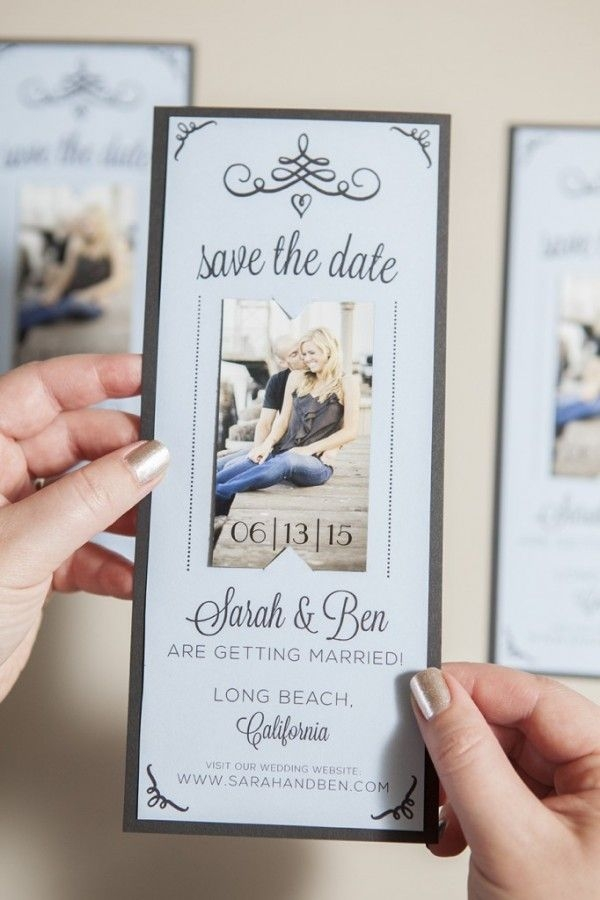 magnet save the date free printable tutorial wedding Wedding Invite Magnets