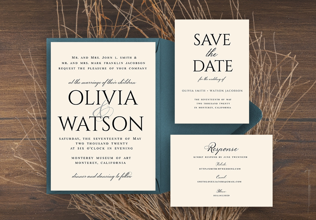 make your own invitations with download print Wedding Invitation Sets Online
