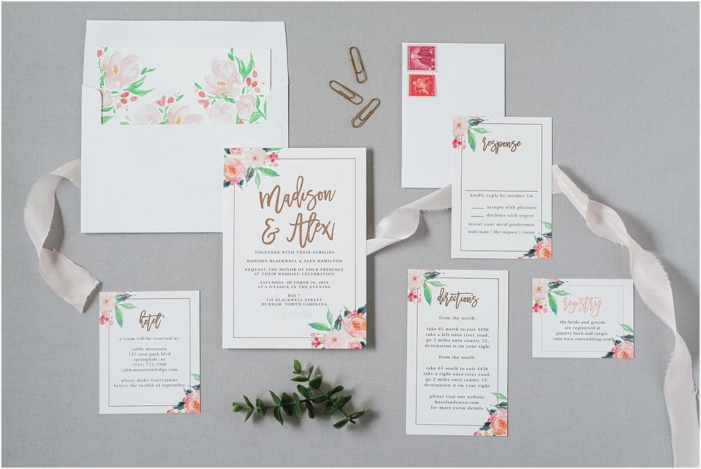 necessities to include on your wedding invitation suite What To Include In Wedding Invitation