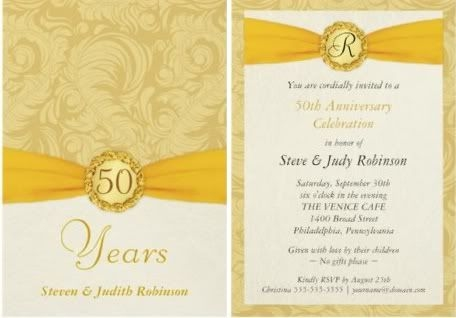 pin pamela dean on projects to try 50th anniversary 50th Wedding Invitation Wording