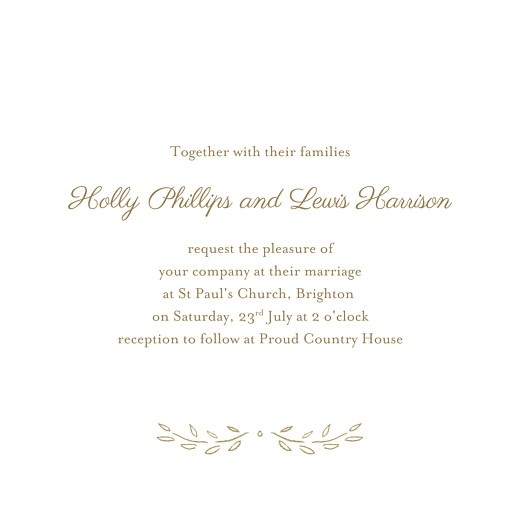 poem 4 pages wedding invitations rosemood Wedding Invitation Poems