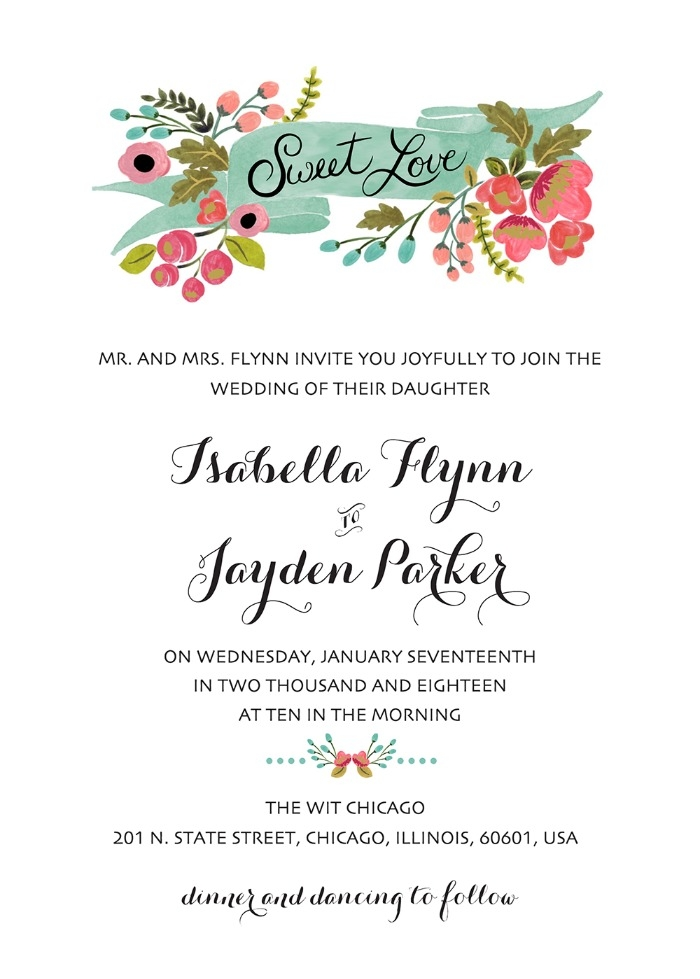 print audrey free printable wedding invites Printable Wedding Invite