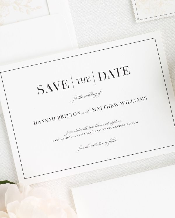 save the date cards shine wedding invitations Save The Date Invites For Weddings