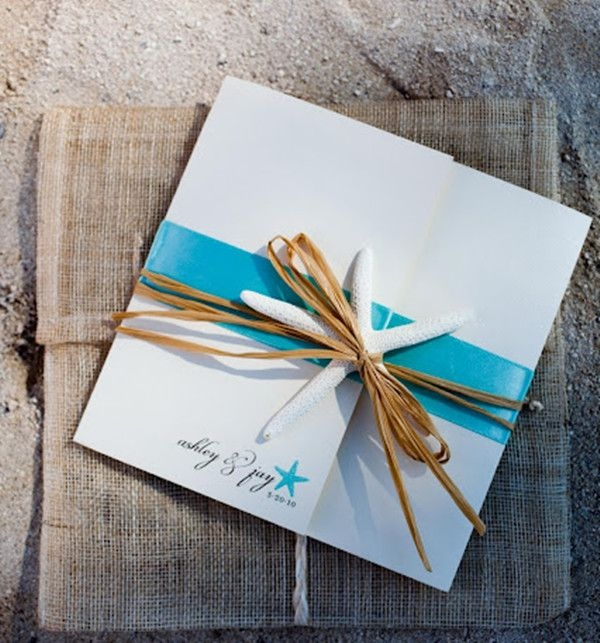 seal and send beach wedding invitations to set the tone for Beach Themed Wedding Invitation