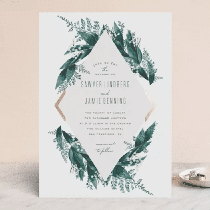 the 12 best websites for wedding invitations of 2020 Wedding Invitations Photos