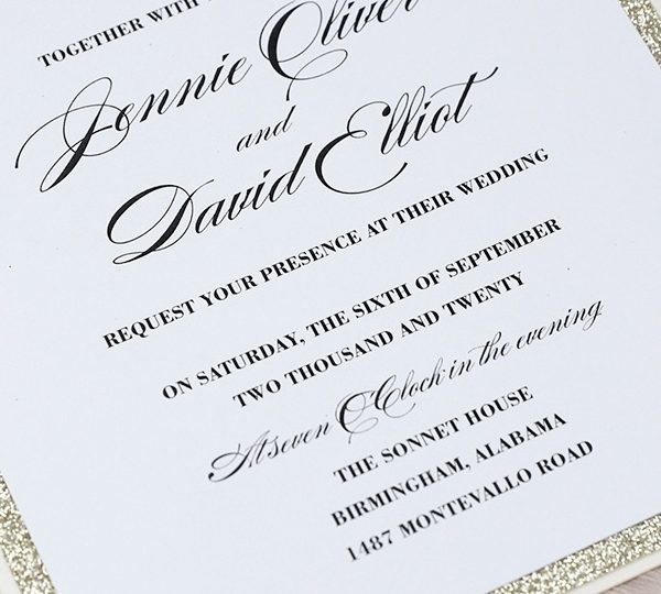 the basic rules for your wedding invitation wording Basic Wedding Invitation Wording