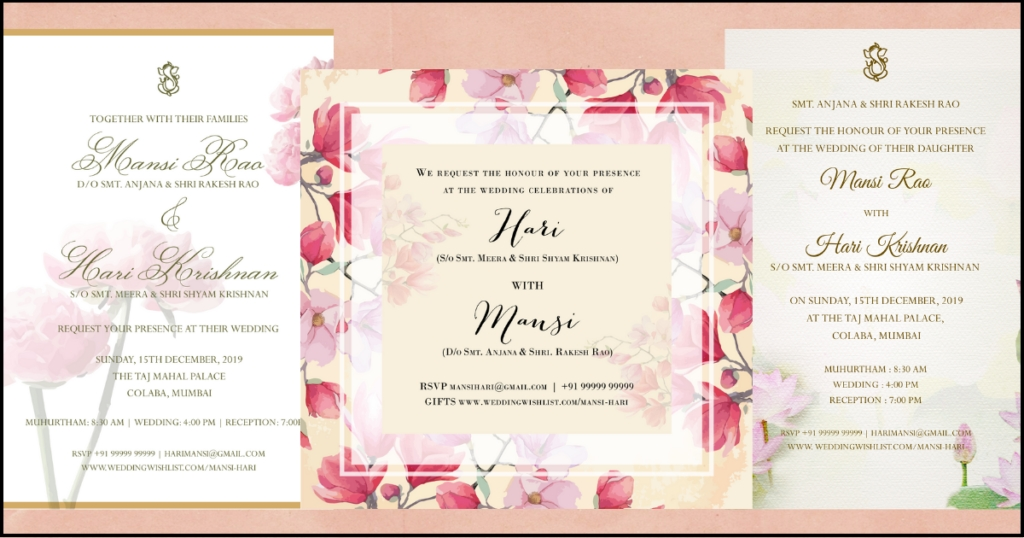 the best examples of wedding invitation wordings for 2019 Wedding Invite Layout