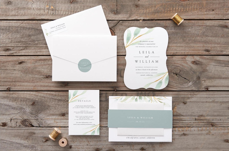 the best places to buy your wedding invitations online loverly Best Place For Wedding Invitations