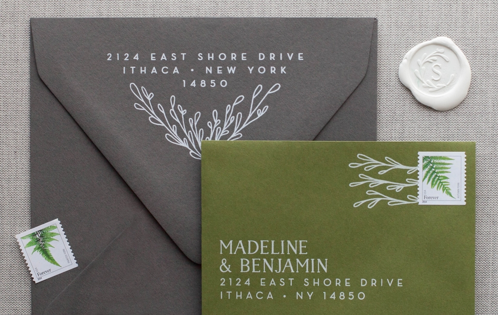 the chatty press custom design co a boutique stationery Custom Wedding Invitations Printing