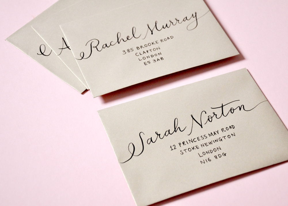 there is so much etiquette that goes into addressing your Address Wedding Invitations