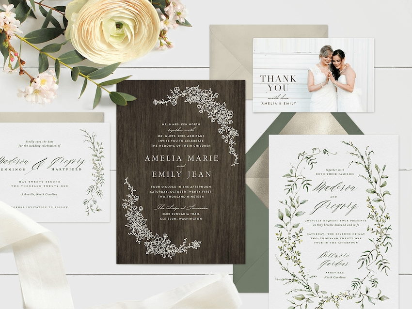 these online wedding invitation ideas will make you forget paper Wedding Invitation Design Inspiration