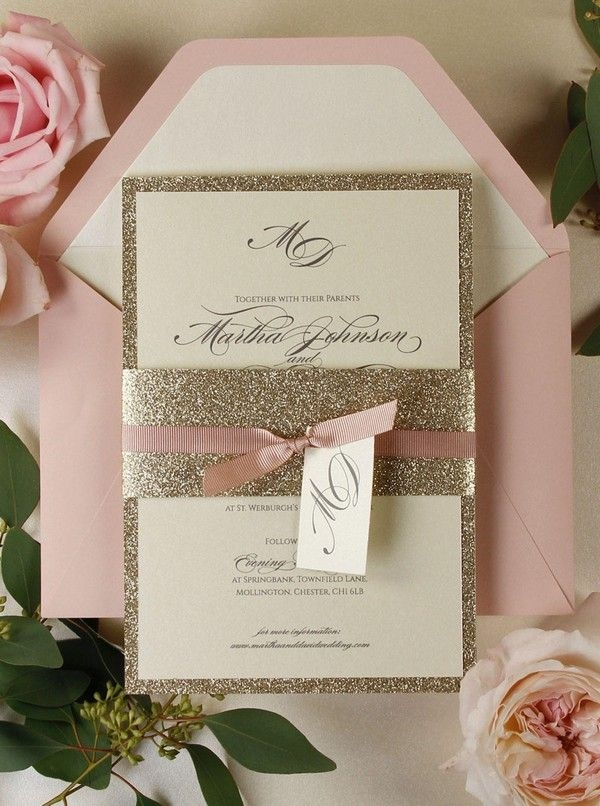top 10 wedding invitations we love from etsy for 2018 page Best Wedding Invitations Cards