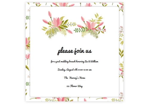 unique online wedding invitations with rsvp sendo Online Wedding Invitation Design