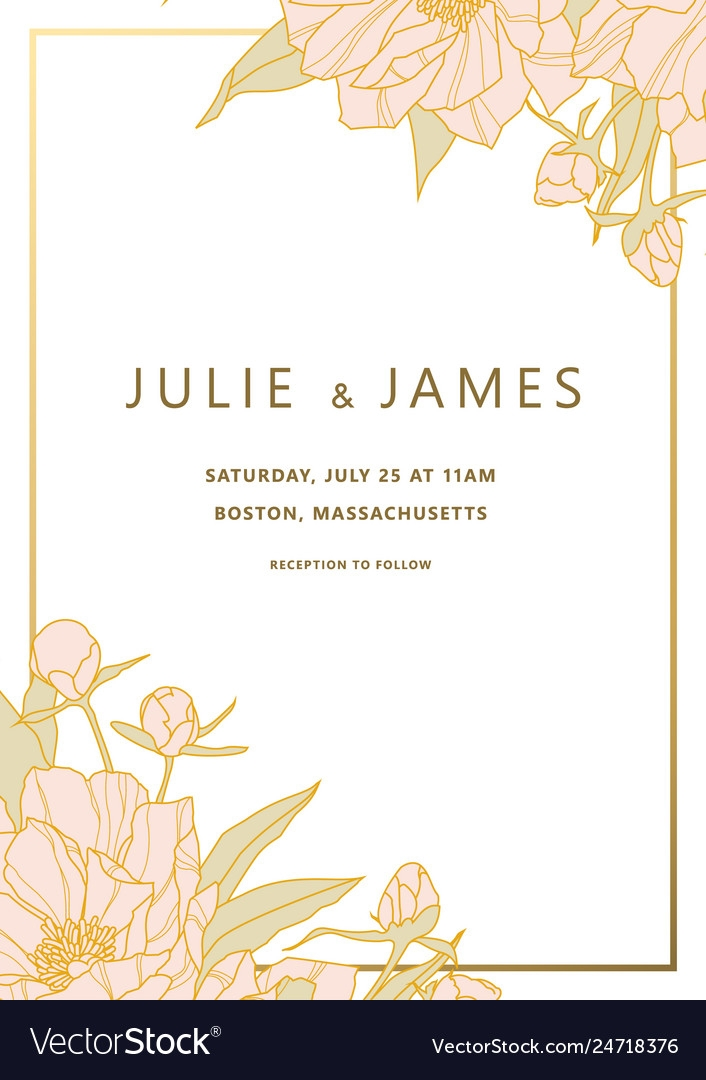 vintage wedding invitation template Wedding Invitation Templets