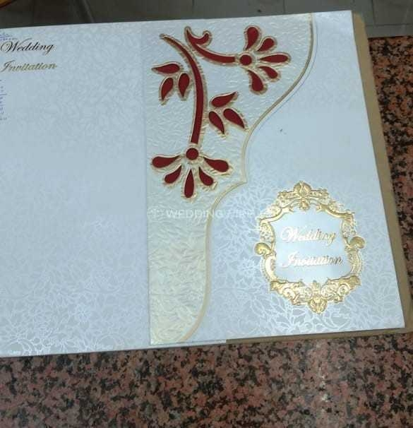 wedding invitation card from golden card creation bangalore Wedding Invitations Bangalore